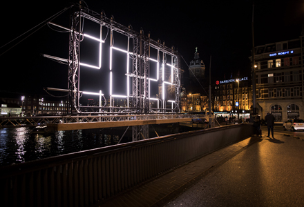 Touch of Time, Amsterdam Light Festival